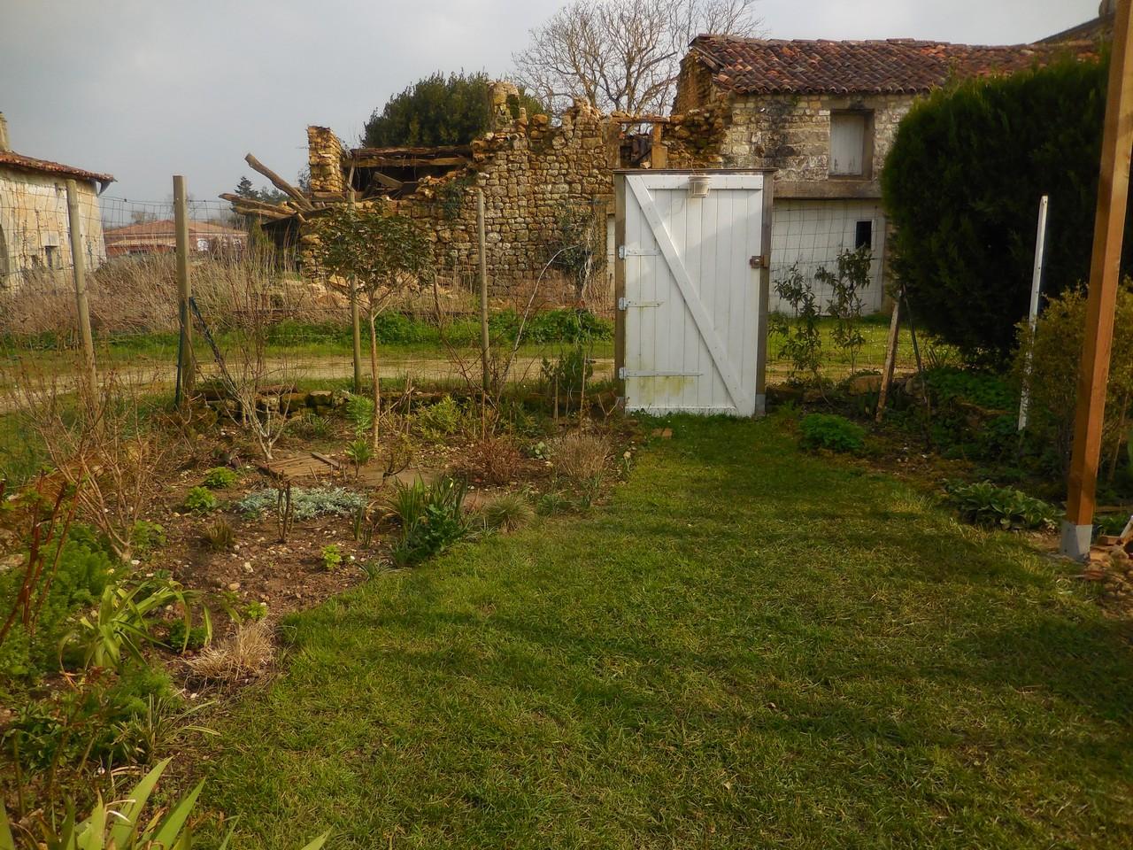 Cagouille 39 s garden jour de tonte for Tonte jardin