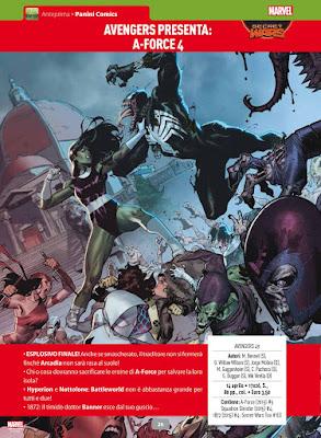 Avengers presenta A-Force #4