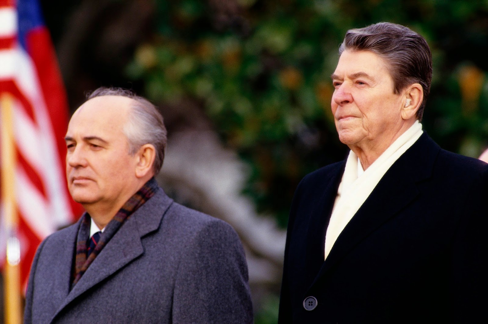 rencontre gorbatchev reagan