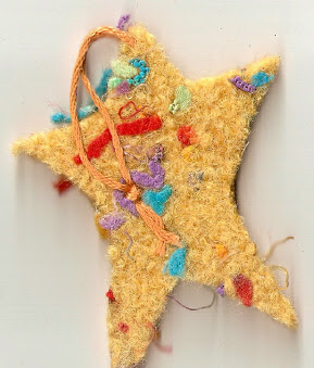 Knitted Felt Ornaments 1