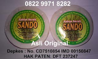 Agen jual sabun sereh sando asli murah original BPOM