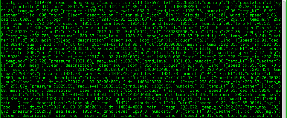 Ah Lam's Note: jq - a powerful unix command line tool for