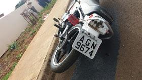 Faxinal - Acidente entre carro e moto deixa dois feridos