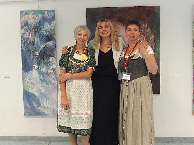 Elke Edinger, Natalia Simonenko, Olga David