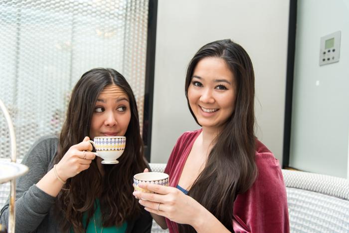 tea at the Berkeley