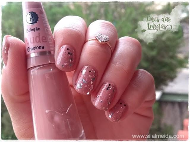 Esmalte Glitter Ludurana