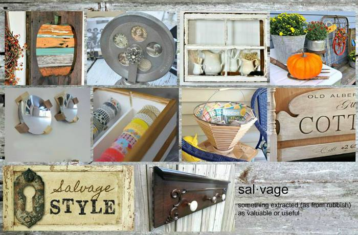 MyLove2Create Salvage Style Projects