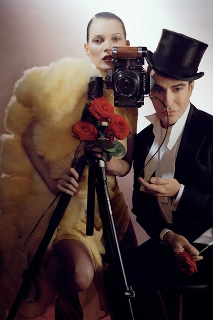 john galliano vogue uk