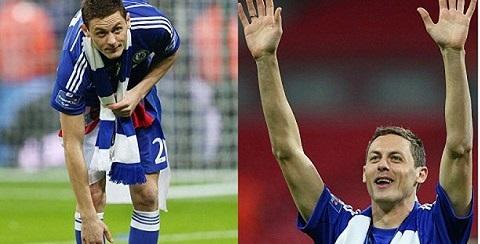 Matic không tham dự trận chung kết gặp Tottenham vì án treo giò trong trận đấu với Burnley