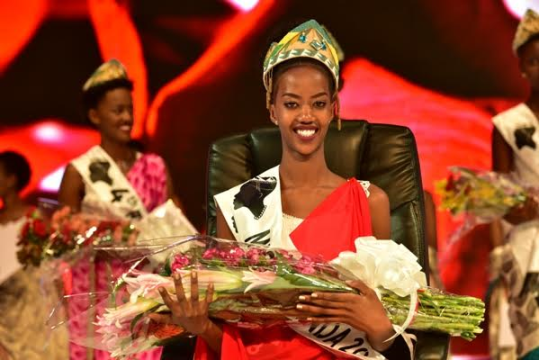 (Photos) Meet the 19-year-old who won Miss Rwanda 2017