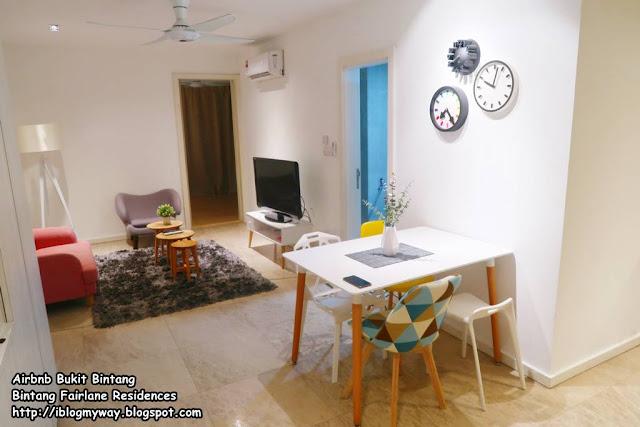 Airbnb Bukit Bintang - Bintang Fairlane Residences