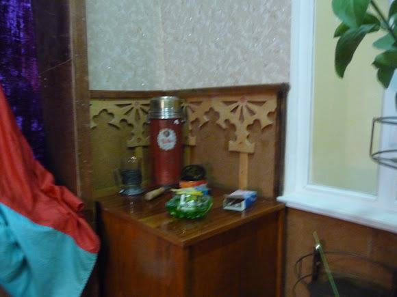Шабо. Центр культуры вина. Музей. Кабинет директора завода в советское время