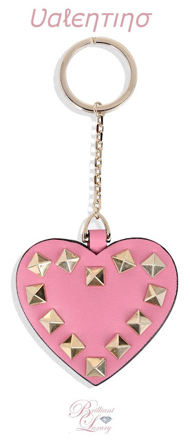 Brilliant Luxury ♦ Valentino Rockstud Keyring