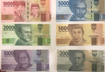 Begini Penampakan Uang Baru Bank Indonesia Emisi 2016