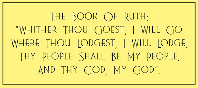Zephyrinus The Book Of Ruth Whither Thou Goest I Will