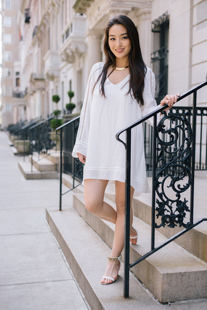 affordable white dresses