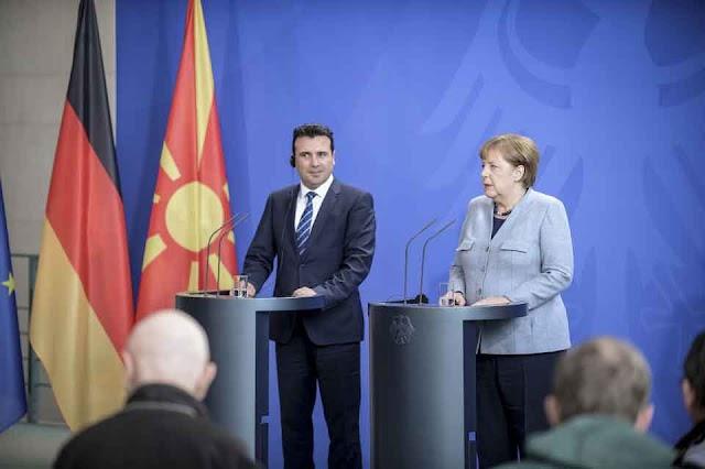 Prespa Agreement – historic opportunity for Macedonia, Chancellor Merkel tells PM Zaev