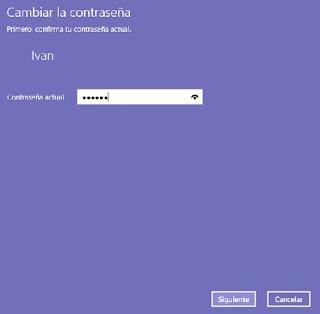 ingresar contraseña Windows 10