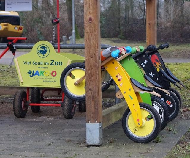 Tierpark Neumünster Laufräder Laufrad Bollerwagen Kinder Familie Herbst Winter Frühjahr