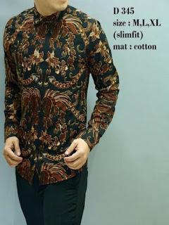 baju batik pria bagus