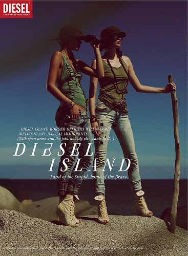 DIESEL ISLAND: LAND OF THE STUPID, HOME OF THE BRAVE