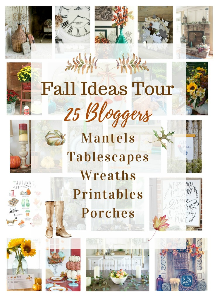 So many great ideas on this blogger fall ideas tour!
