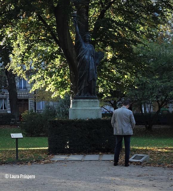 Réplica da Estátua da Liberdade, Jardin du Luxembourg © Laura Próspero