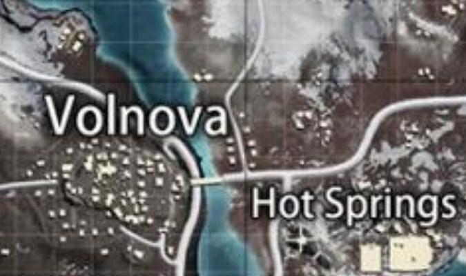 Lokasi Loot Terbaik di Vikendi Map PUBG Mobile - Volnova