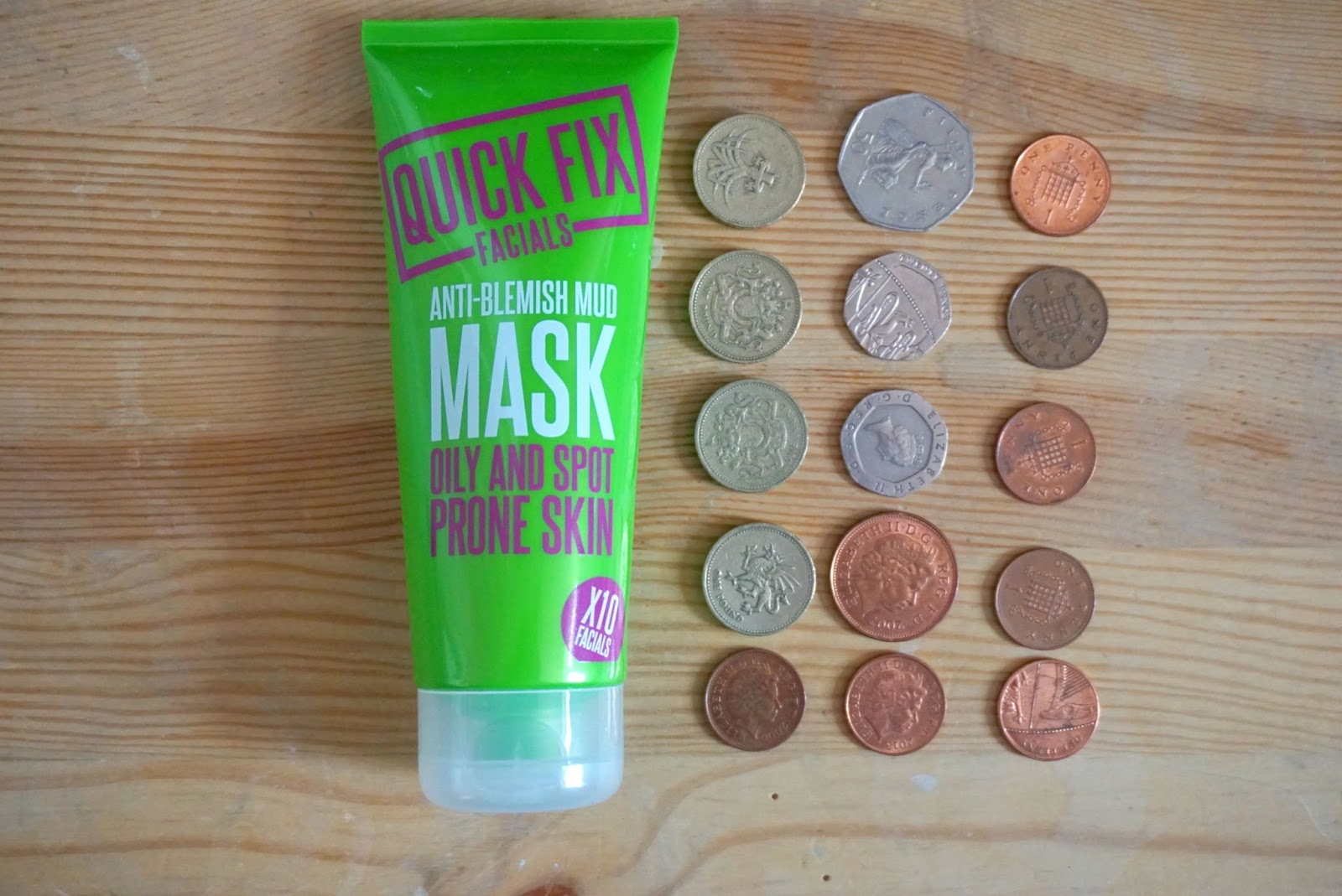 Quick Fix Facials Anti-Blemish Face Mask
