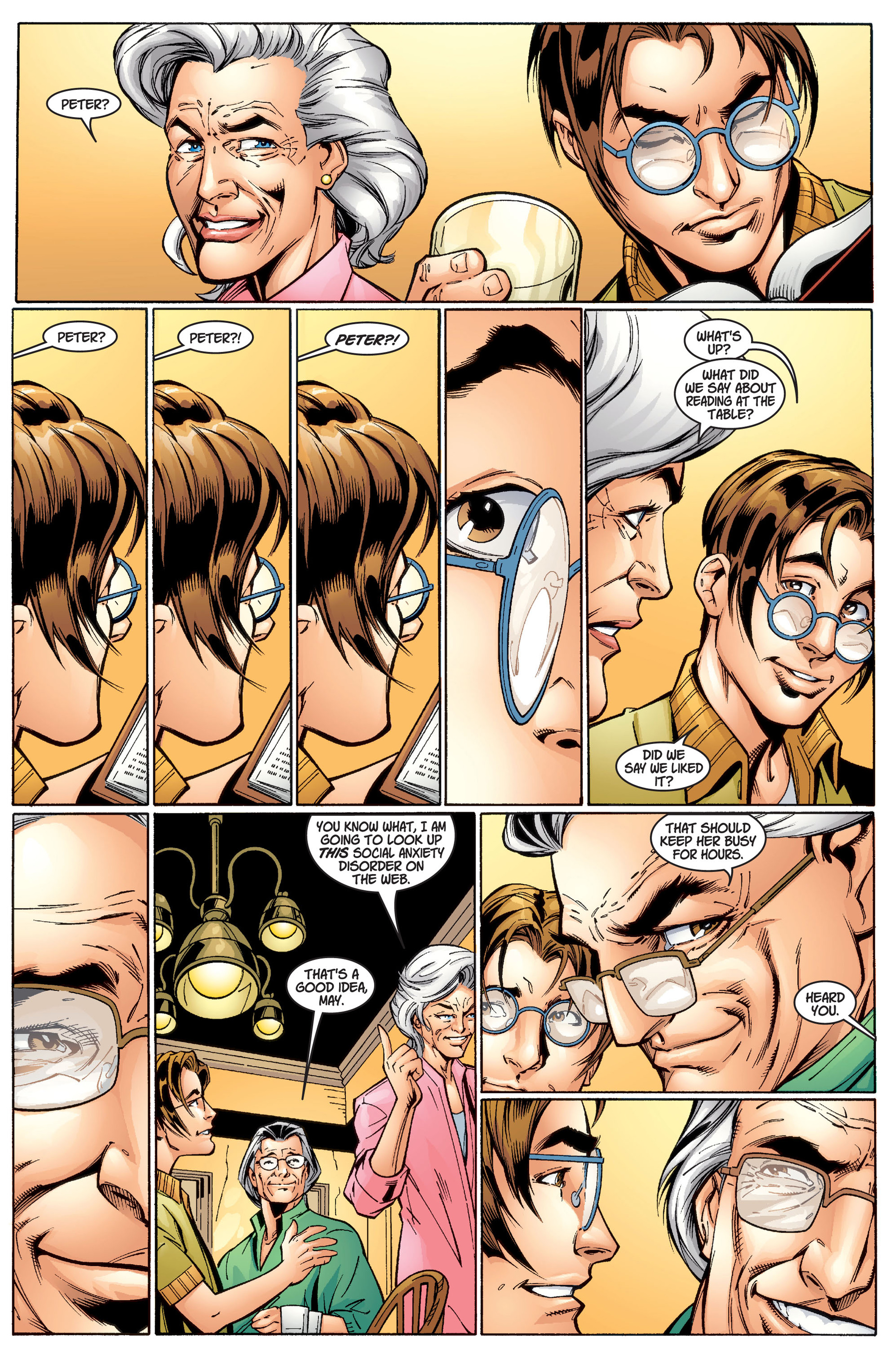 Read online Ultimate Spider-Man (2000) comic -  Issue #1 - 16