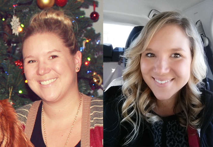 Before and after Whole30