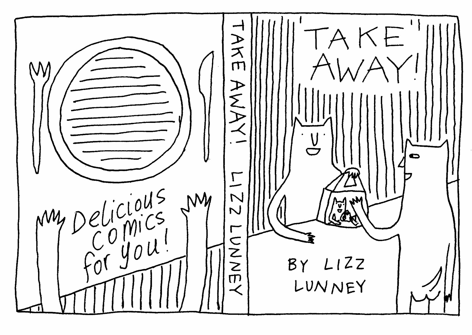 Lizzlizz- The blog bog!: Take Away! Cover Design