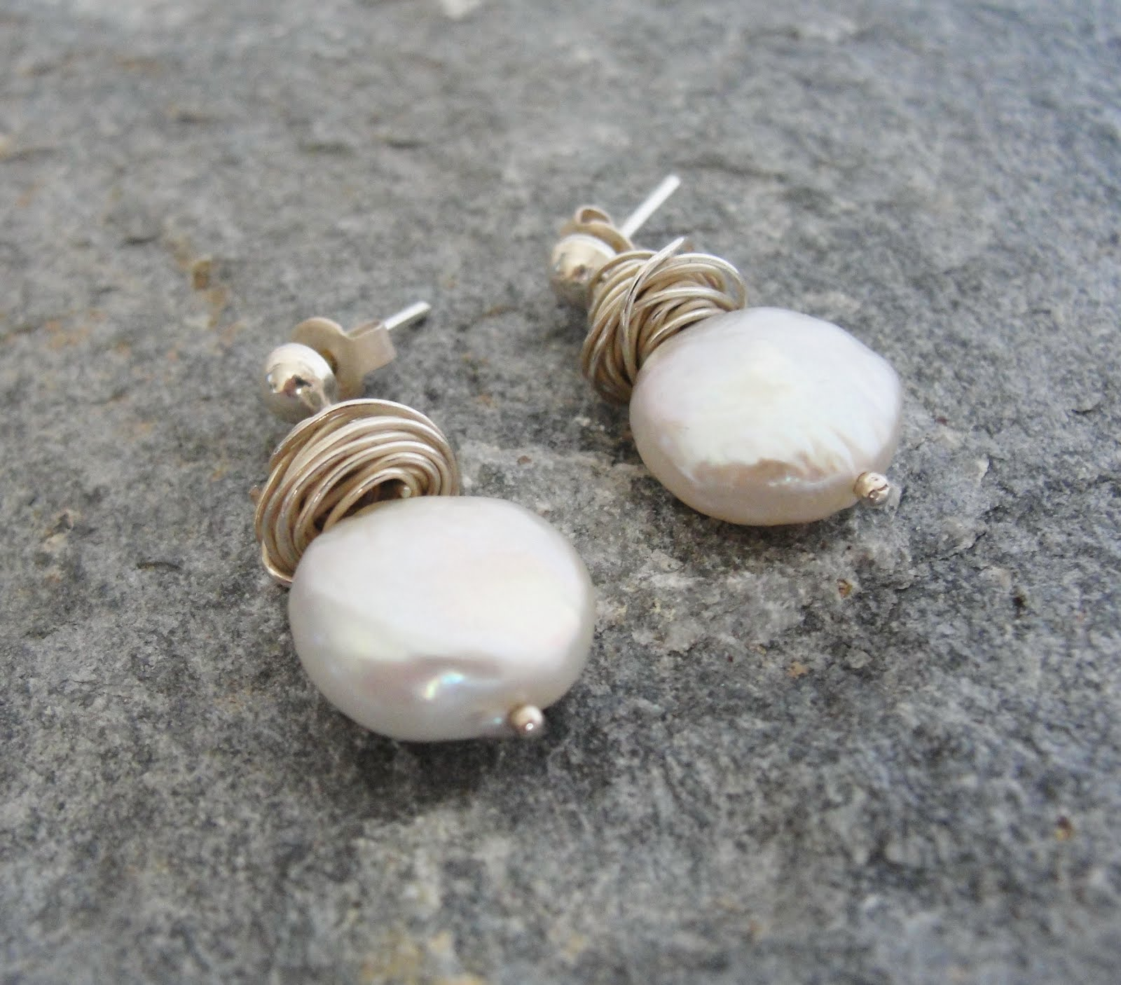 Bridal Pearl Earrings