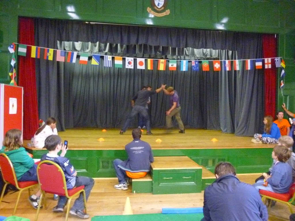 Rhodri Haines (WAL) vs Marc Broughton (ENG) at the World Alternative Games 2014