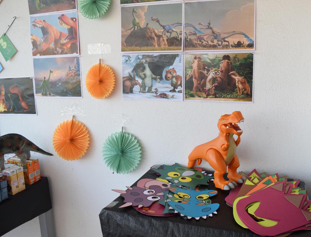fista cumpleaños dinosaurios
