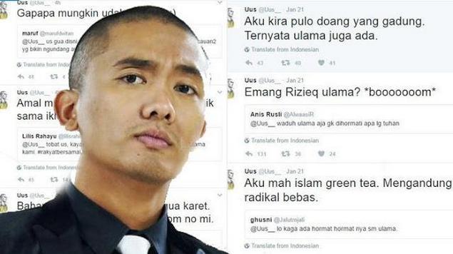 Komika, Uus yang menuai Bully setelah berkicau di Twitter