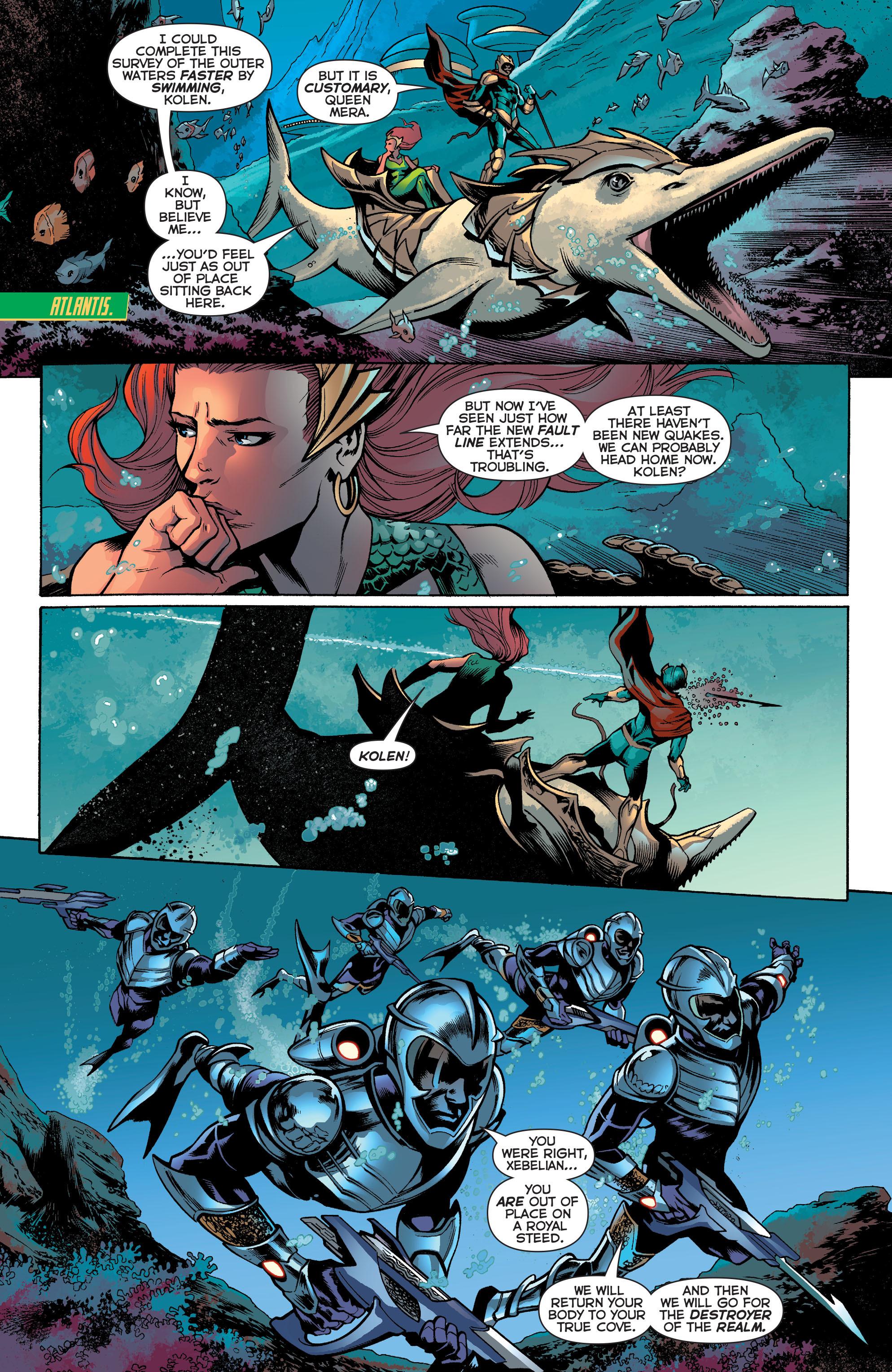 Read online Aquaman (2011) comic -  Issue #30 - 9