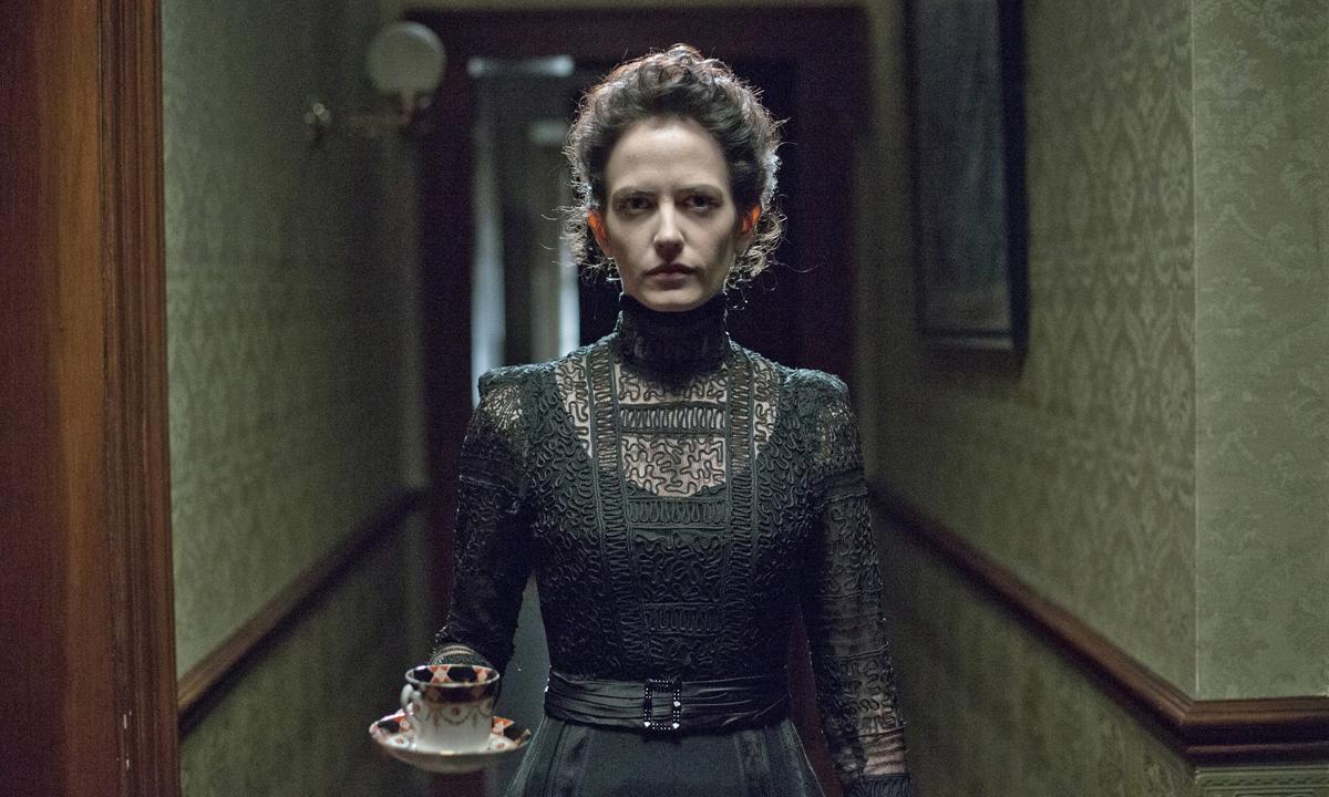 Fotografía de Eva Green en Penny Dreadful, serie de terror