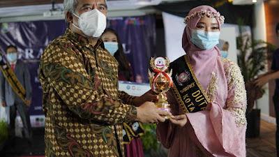 Grand Final, Vilenta Ovilia Pemenang Duta Anti Narkoba Kota Tangerang 2021