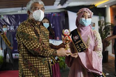 Grand Final Pemilihan Duta Anti Narkoba Kota Tangerang 2021 akhirnya Kukuhkan 3 orang Pemenang