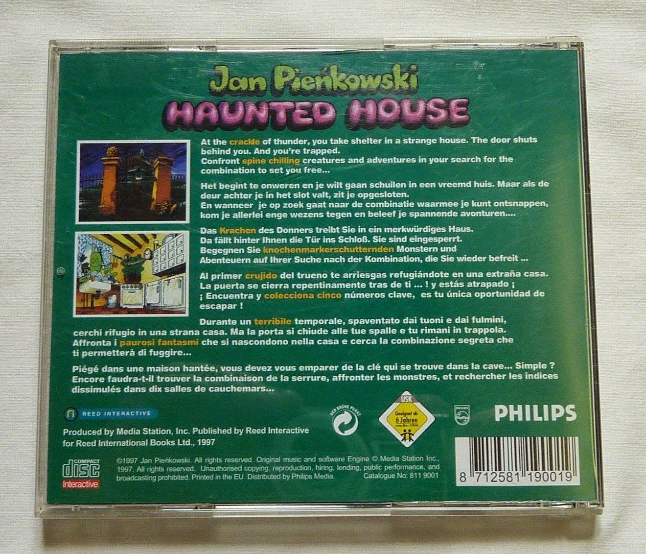 Jan Pienkowski's Haunted House: 3rd party support in 1997