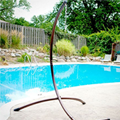 Bronze Hanging Chair Stand