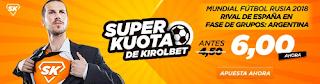 Kirolbet tiene mercados para el sorteo mundial Rusia 2018