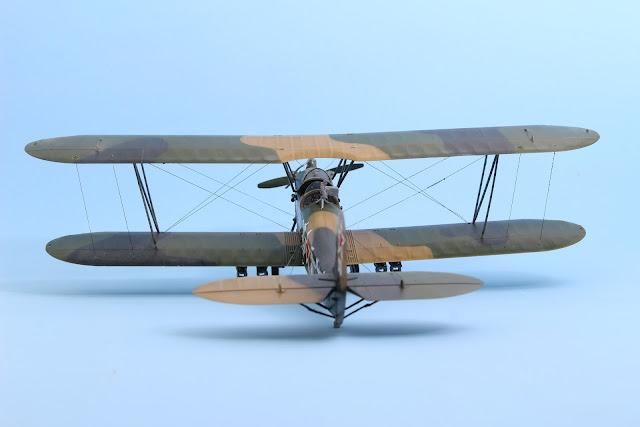 Maquette du Polikarpov PO2 d'ICM au 1/48.