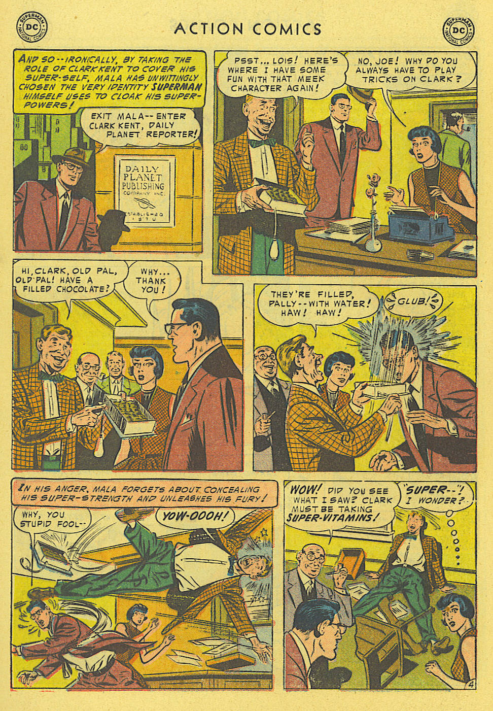 Read online Action Comics (1938) comic -  Issue #194 - 5