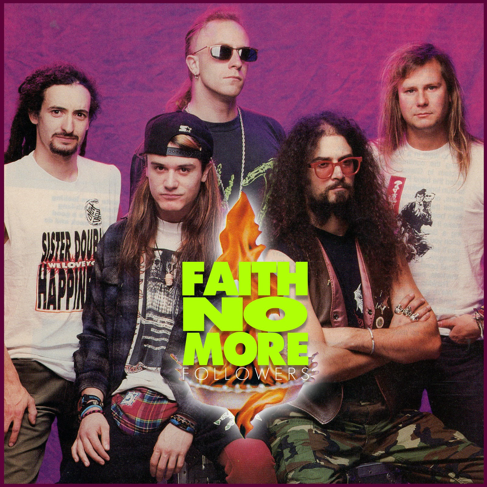Faith no more band of the year 1990 for More com