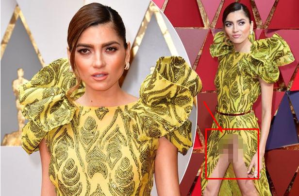 Lagi-lagi Geger Aktris Ini Tak Sengaja Pamer Area Sensitif di Ajang Piala Oscar 2017