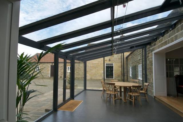 teraszbeépítés - erkély üvegezés
