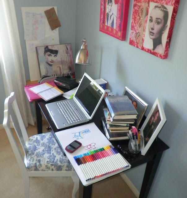 Messy Office: Tiffany Leigh Interior Design: April 2012