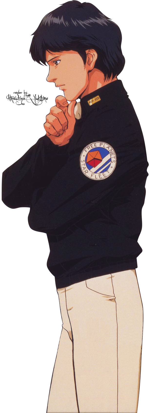 Render Yang Wenli - The legend of the Galactic heroes